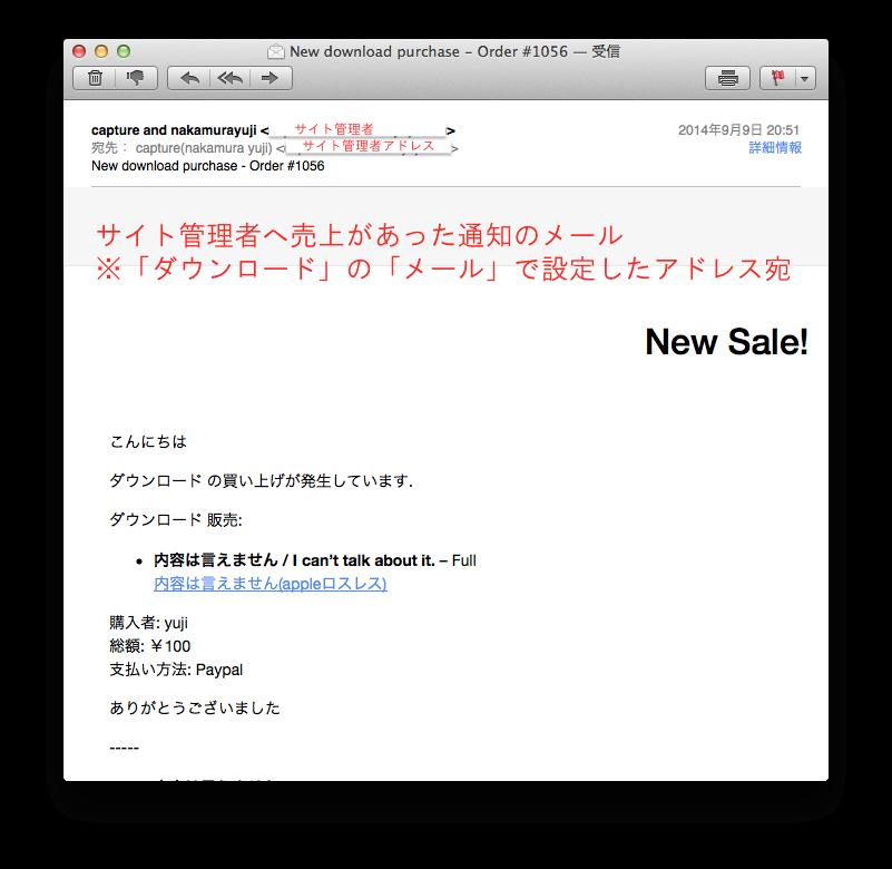 019_サイト管理者への売上メール