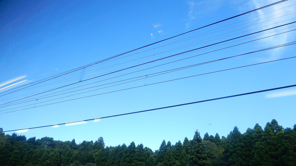 千葉→成田空港に向かう車窓より